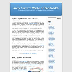 Andy Carvin's Waste of Bandwidth