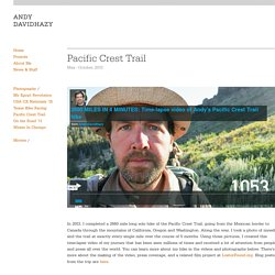 Andy Davidhazy/Pac.Crest Trail