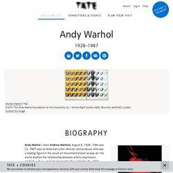 Andy Warhol - Tate Modern