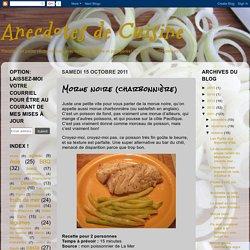 Anecdotes de Cuisine: Morue noire (charbonnière) [sablefish]