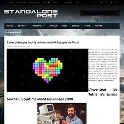 5 anecdotes que tout le monde a oublié à propos de Tetris
