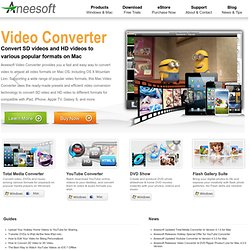 Aneesoft - Best DVD Ripper and Video Converter Software for PC a