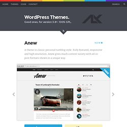 Anew - AlxMedia