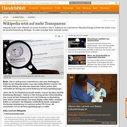 Neue Anforderungen an Schreiber: Wikipedia setzt auf mehr Transparenz - IT + Medien