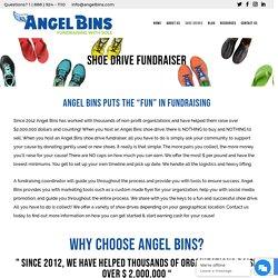 Angel Bins Shoe Fundraiser