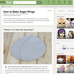 How to Make Angel Wings: 21 Steps (with Pictures