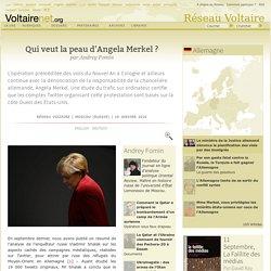 Qui veut la peau d'Angela Merkel ?, par Andrey Fomin