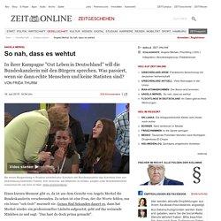 Angela Merkel: So nah, dass es wehtut