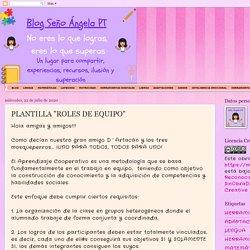 """PLANTILLA """"ROLES DE EQUIPO"""""""