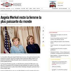 Angela Merkel reste la femme la plus puissante du monde