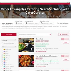 Corporate Caterers Los Angeles