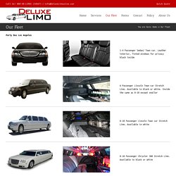 Party Bus Los Angeles - Deluxe Limo Transportation Inc