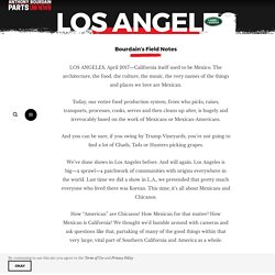 Los Angeles – Explore Parts Unknown