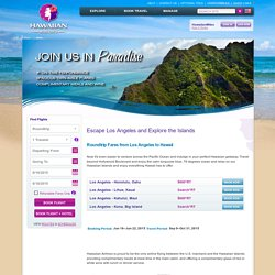 Travel from Los Angeles to Hawaii - Best Rates on Hawaiian Airlines - Hawaiian Airlines