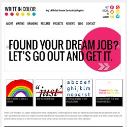 Write In Color | Writing Consulting Services