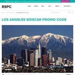 Los Angeles Sidecar Promo Code – Free Sidecar Credits