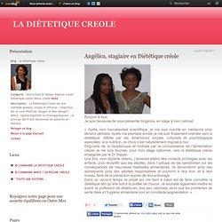 Angélica, stagiaire en Diététique créole - la diététique créole