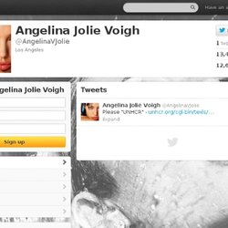 Angelina Jolie Voigh (angelinavjolie) on Twitter