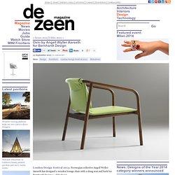Oslo chair by Angell Wyller Aarseth for Bernhardt Design