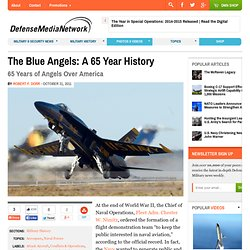 The Blue Angels: A 65 Year History
