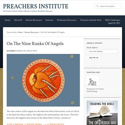 On The Nine Ranks Of Angels · Preachers Institute