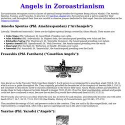 ANGELS: Zoroastrian