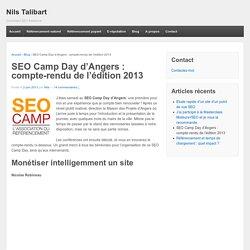 SEO Camp Day d'Angers : compte-rendu de l'édition 2013