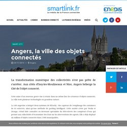 Angers, la ville des objets connectés