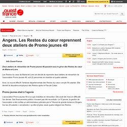 Angers. Les Restos du cœur reprennent Promo jeunes 49 - Angers - Social