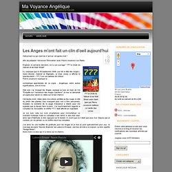 Les Anges m'ont fait 1 clin d'oeil aujourd'hui SITE angeliquevoyance .wordpress.com