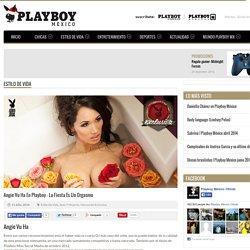 Angie Vu Ha en Playboy