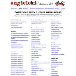jezyk angielski / english : angielski testy, nauka, cwiczenia po angielsku