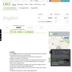 Angkor : conseils voyageurs Angkor