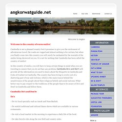 Angkor Wat Guide - Siem Reap, Cambodia