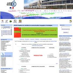 Site d'anglais de l'académie de la Martinique