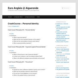 Le blog de la section européenne Anglais du Lycée Aiguerande