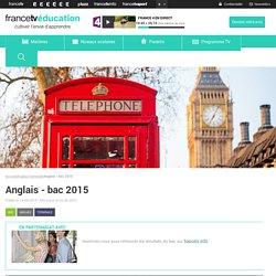 Anglais - bac 2015