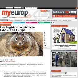 MYEUROP 20/12/11 Les Anglais champions de l'obésité en Europe