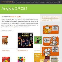 Anglais CP CE1