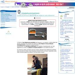 #IUseMyPhoneInClassProjects- Anglais LP