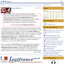 Anglais LP -Académie de Poitiers