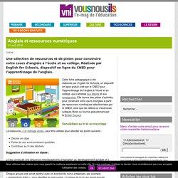 Anglais et ressources numériques – VousNousIls