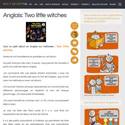 Anglais: Two little witches