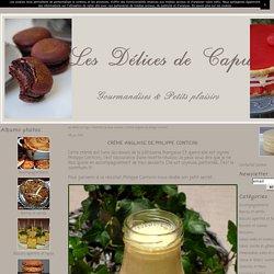 Crème anglaise de philippe conticini