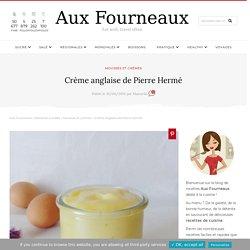 Crème anglaise de Pierre Hermé