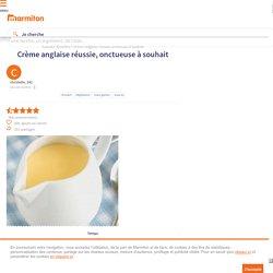 Crème anglaise réussie, onctueuse à souhait : Recette de Crème anglaise réussie, onctueuse à souhait