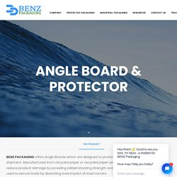 Angle Board & Protector - BENZ Packaging