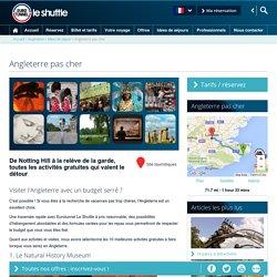 Activités gratuites à Londres en Angleterre - Eurotunnel le Shuttle