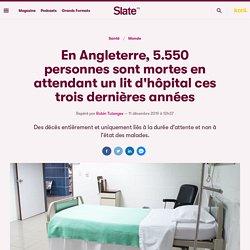 En Angleterre, 5.550 personnes sont mortes en attendant un lit d'hôpital ces trois dernières années