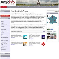 AngloINFO France. Everything for expats living in or moving to France